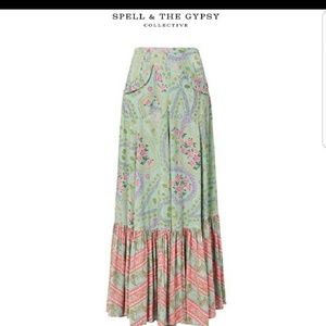 Spell & The Gypsy Collective Skirts - On hold for Genie Spell City Lights Maxi Skirt